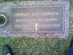 Shirley Lou <I>Brown</I> Colbath