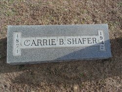 Carrie B <I>Lovelace</I> Shafer