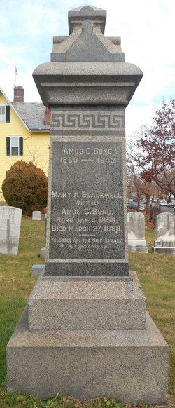Mary Adelaide <I>Blackwell</I> Bond
