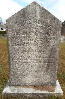 Alice <I>Bowne</I> Blackwell