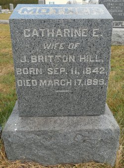 Catharine E. <I>Titus</I> Hill