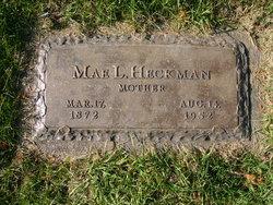 """Mae L. """"Matie"""" <I>Garrison</I> Heckman"""