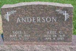 Axel C Anderson