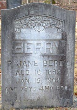Jane <I>Francis</I> Berry