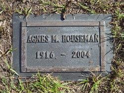 Agnes Mary <I>Dusek</I> Houseman
