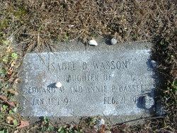 Isabel <I>Bassett</I> Wasson