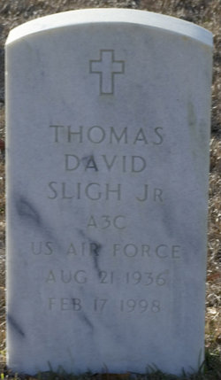 "Thomas David ""Tom"" Sligh, Jr"
