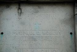 Pvt Paul D Mobley