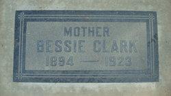 Bessie <I>Mitchell</I> Clark