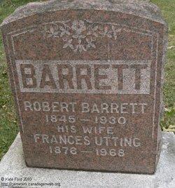 Frances Eleanor <I>Utting</I> Barrett