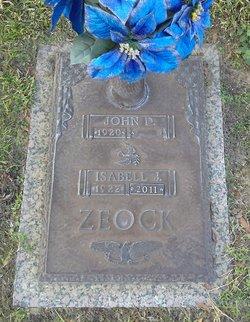 """John D """"Red"""" Zeock"""