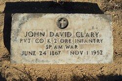 John David Clary