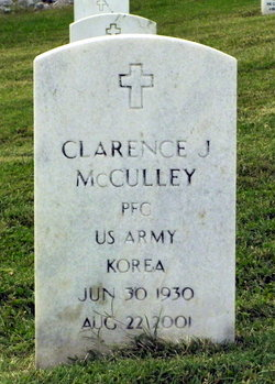 Clarence J McCulley