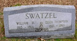 Eliza Jane <I>Thompson</I> Swatzel