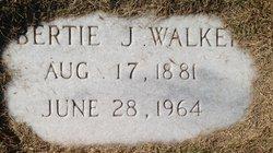 Bertie J Walker
