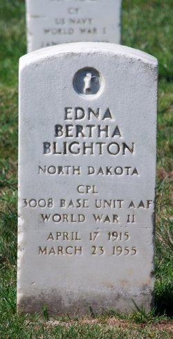 Edna Bertha <I>Pokert</I> Blighton