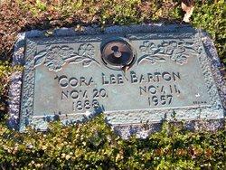 Cora Lee <I>Wagner</I> Barton