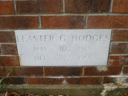 "Leaster Godette ""Lee Esther"" Hodges"