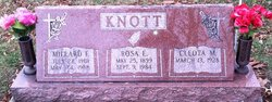Rosa E <I>Miller</I> Knott