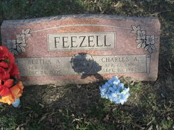 Bertha Ann <I>Aleshire</I> Feezell