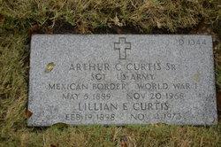 Arthur C Curtis, Sr