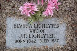 Elvira <I>Lewis</I> Lichlyter