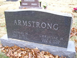 Christine <I>Hyland</I> Armstrong