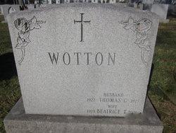 Thomas G. Wotton