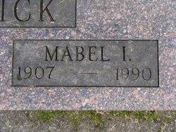 Mabel I. Burdick