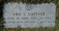 Ada L. <I>Matthews</I> Gaither