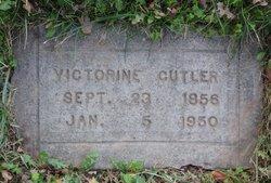 Victorine W. <I>LaDue</I> Cutler
