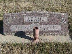 Emma Sophia <I>Denker</I> Adams