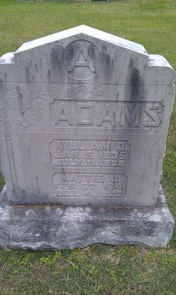 """Martha J """"Mattie"""" <I>Starr</I> Adams"""