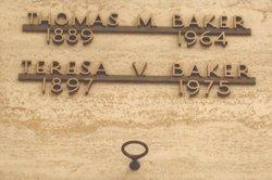 Teresa V. <I>Pipione</I> Baker