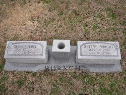 Bettye <I>Wright</I> Borsch