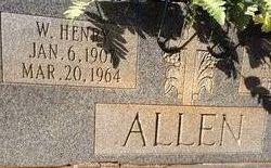 W Henry Allen