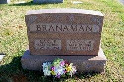 Carl F Branaman