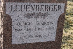 "Caroline Charlotte ""Cassie"" <I>Myers</I> Leuenberger"