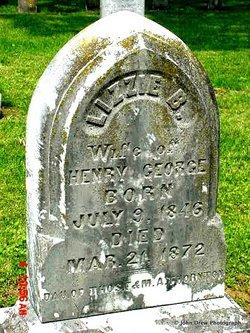 Lizzie B. <I>Thornton</I> George