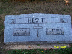 Anna M Hewitt