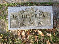 Ila Oleta Whitaker