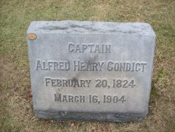 Capt Alfred Henry Condict