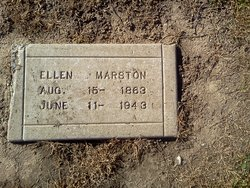 "Ellen ""Ella"" <I>Keeley</I> Marston"