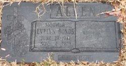 Evelyn <I>Bonds</I> Allen