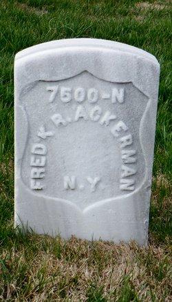 "Frederick R ""Fred"" Ackerman"