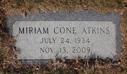 Miriam <I>Cone</I> Atkins