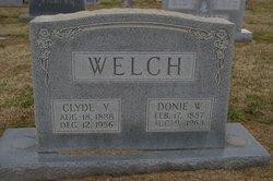 Clyde Yates Welch