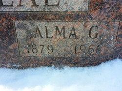 Alma Gertrude <I>Hendryx</I> Belveal