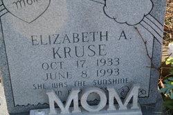 Elizabeth Ann <I>Shafer</I> Kruse