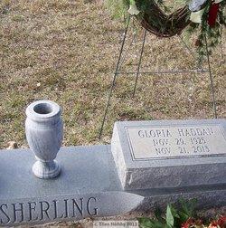 Gloria Claire <I>Haddan</I> Sherling